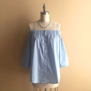 NWOT Lumiere Off The Shoulder Top